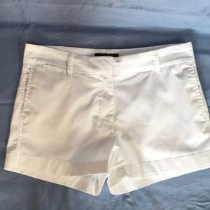 J Crew Chino white shorts